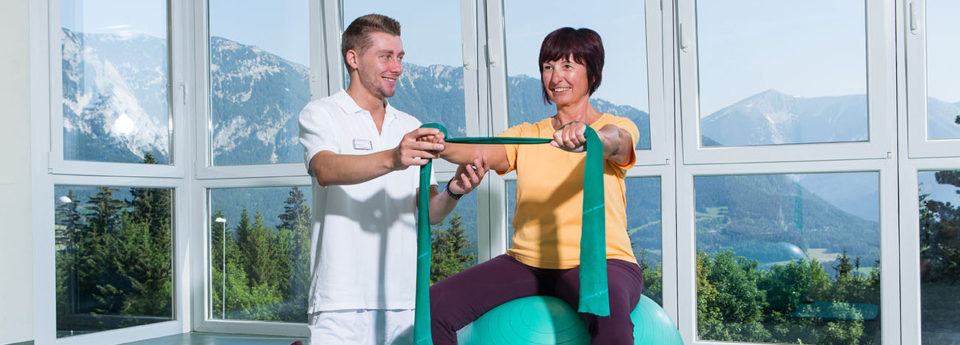 Therapie mit Panoramaausblick